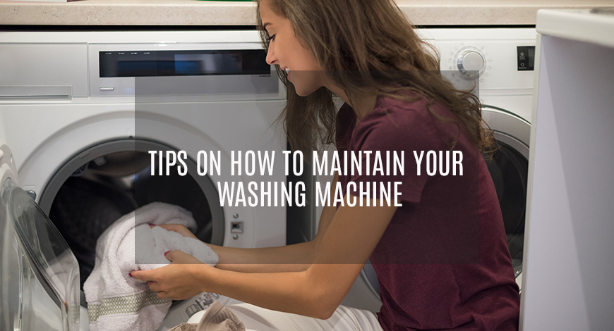 Tips on how to maintain your washing machine- GEMINDIA